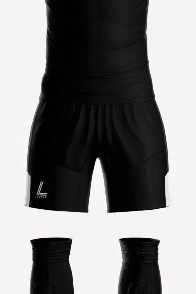 Kempes Shorts – Maroon/White