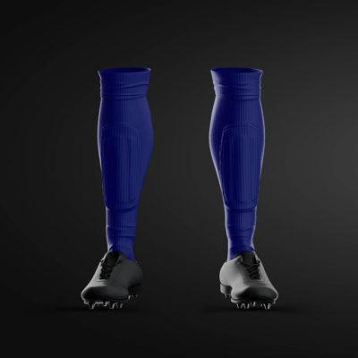 TFC Blue Training Socks